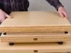 Wyrównywanie brzegów obu części masywnej obudowy